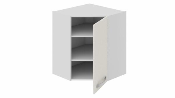 Шкаф навесной угловой с углом 45° ВУ45_72-(40)_1ДР Бежевая 72 см