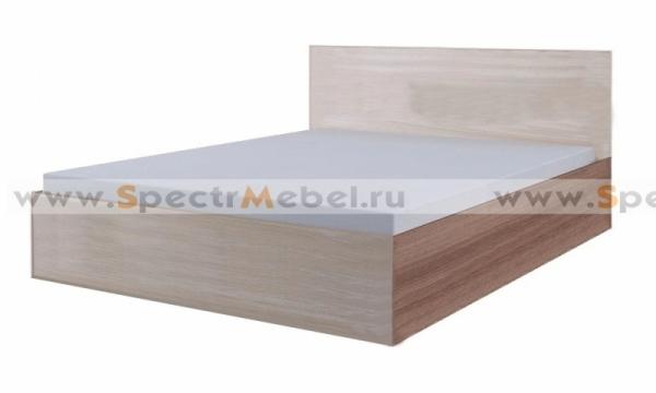 Кровать с матрацем ясень шимо
