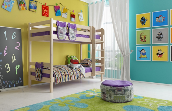 Двухъярусная кровать G0072