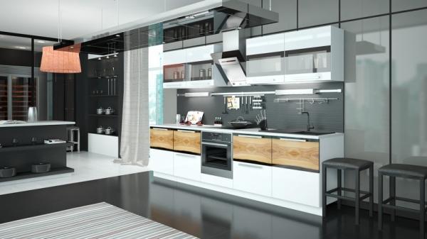 Модульная кухня «Фэнтези» (ФЭНТЕЗИ (Вуд))