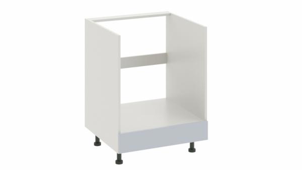 Шкаф напольный под бытовую технику с 1-м ящиком НБ1я_72(12)-60_1Я Голубая