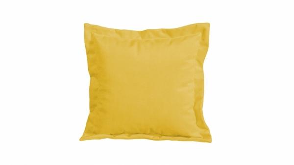 Подушка малая П2 (Maserati 11 (велюр), желтый)