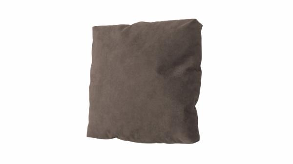 Подушка малая П1 (Dakar 03 (искусственная замша) коричневый)